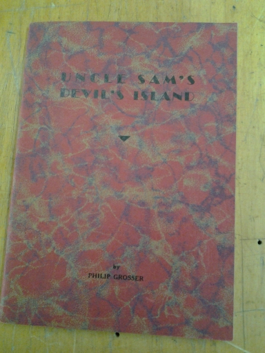 Image for UNCLE SAM'S DEVIL'S ISLAND: EXPERIENCES OF A CONSCIENTIOUS OBJECTOR IN AMERICA DURING THE WORLD WAR