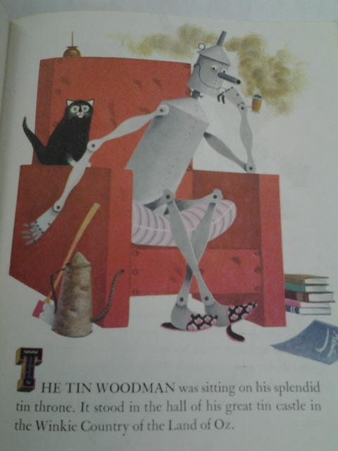 Image for TIN WOODMAN OF OZ: A LITTLE GOLDEN BOOK