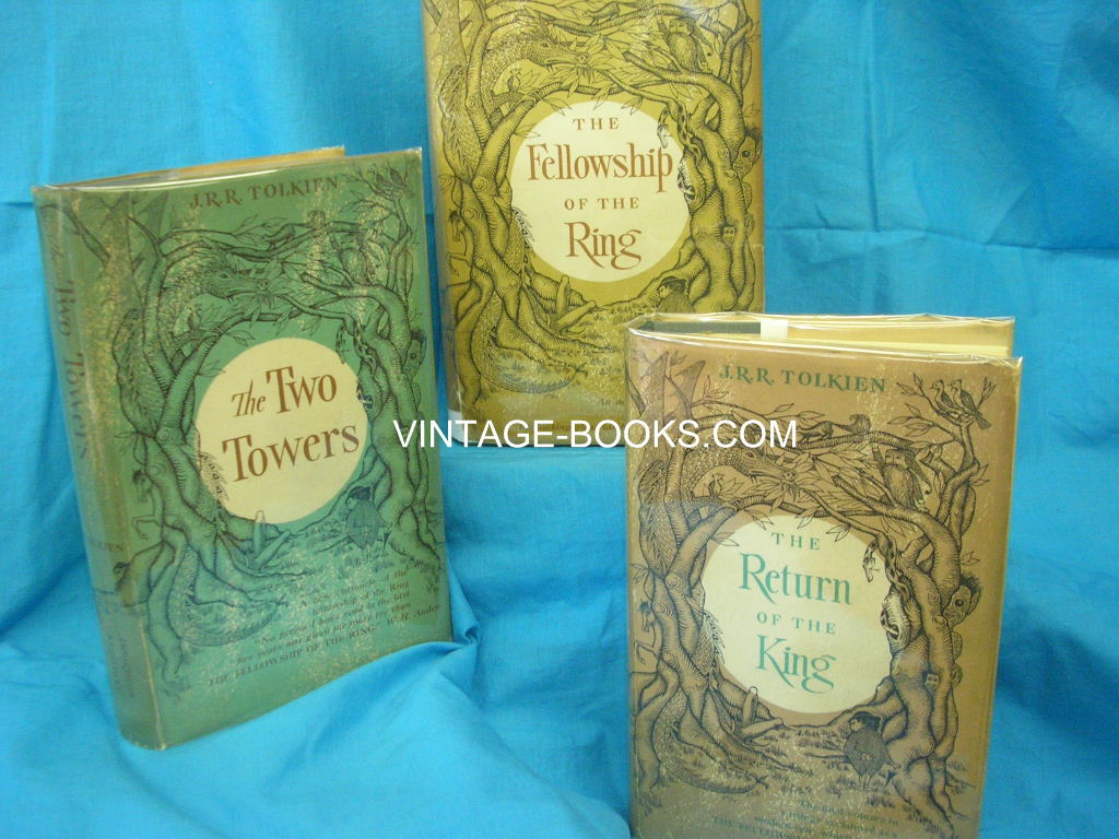 Image for THE LORD OF THE RINGS, IN 3 VOLUMES: THE FELLOWSHIP OF THE RING; THE TWO TOWERS; THE RETURN OF THE KING
